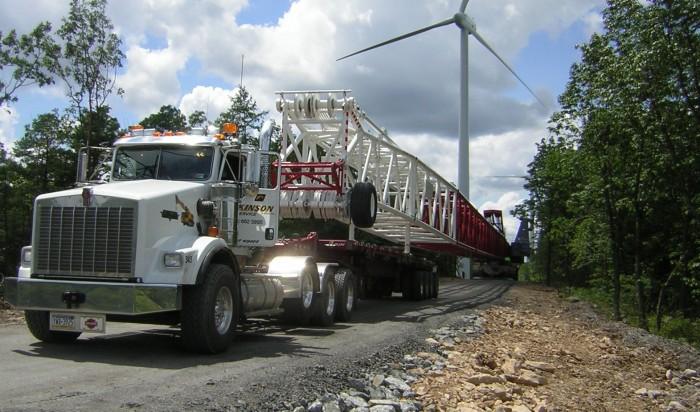 Ripley Transportation Crane